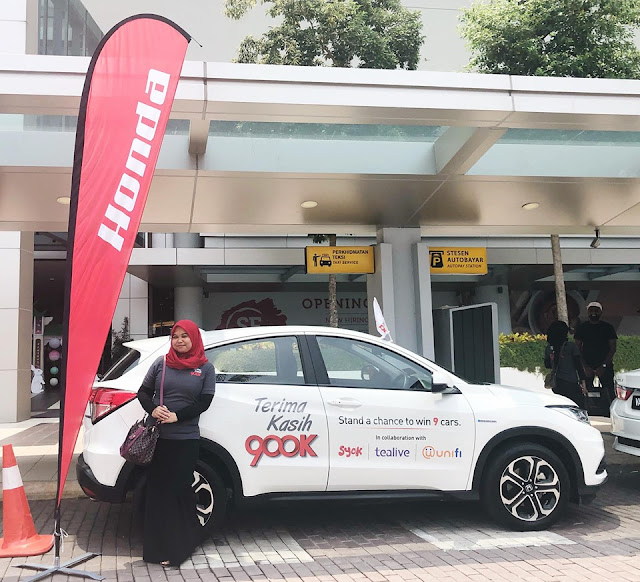 Unifi X Honda