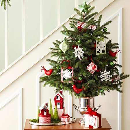 From Master Bedrooms To Libraries The Kitchen And Beyond Mini Decorated Christmas Trees Are A Wonderful Idea Start New Tradition Within Your