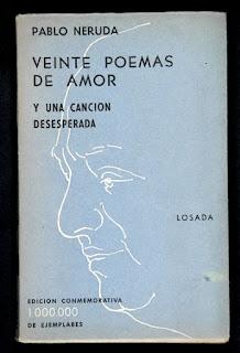 Poemas amor Neruda