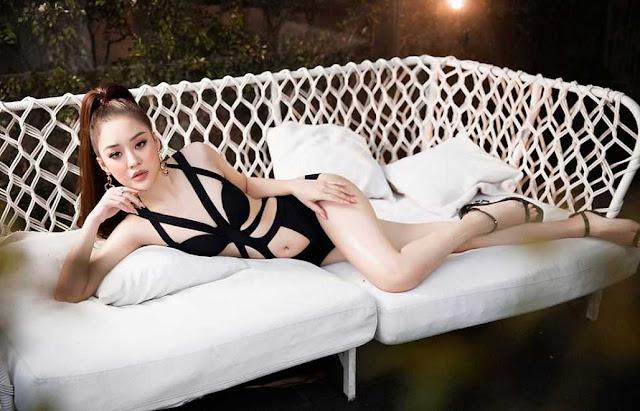 """Cựu nữ sinh Phòng cháy 8 lần thi hoa hậu: """"Mai Phương Thúy tạo áp lực cho tôi"""""""