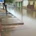 Alagamento intransitável na rua Tenente Souza no bairro Pajuçara