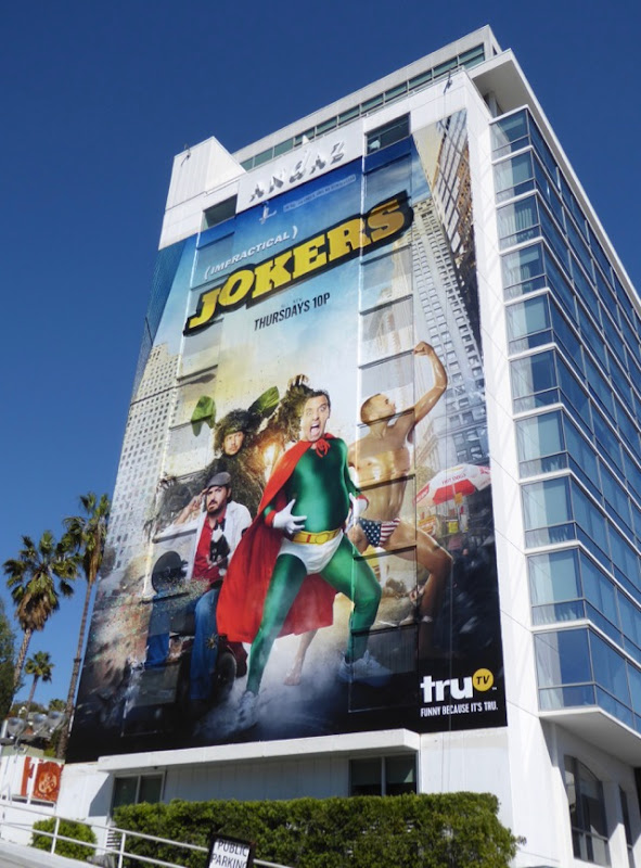 Giant Impractical Jokers season 6 billboard