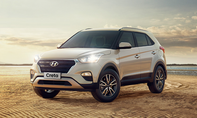 2017 Hyundai Creta Facelift SUV vehicle