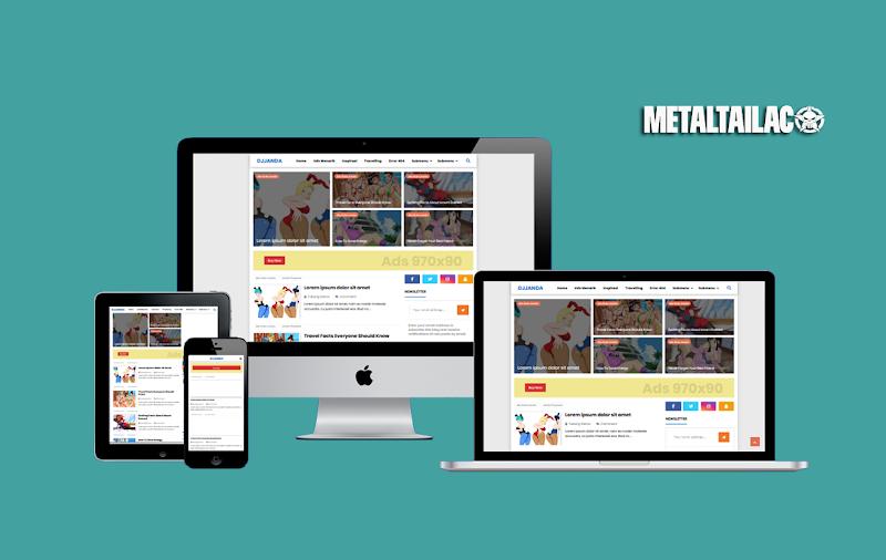 Juragan Boxed Redesign + Original Template - Responsive Blogger Template