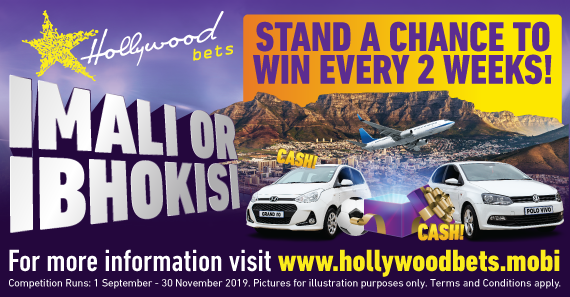 Imali or Bhokisi artwork - Hyundai Grand i10 and VW Polo as well as plane taking off in front of table mountain