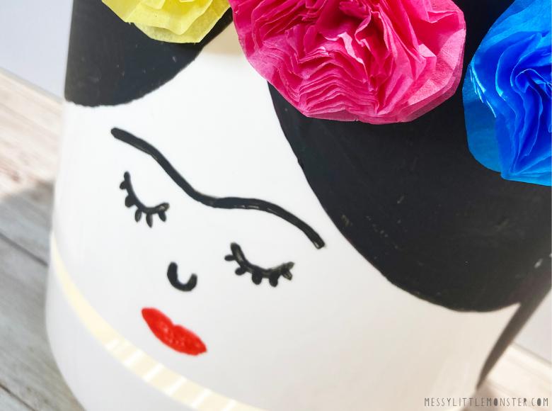 flower pot craft for kids
