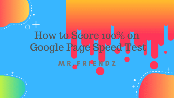 page speed by google