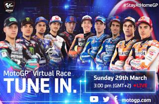 Resultado Carrera Virtual de MotoGP 29 marzo 2020