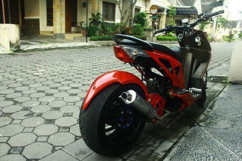 gambar Modifikasi Stang Pada Honda Ala Moge
