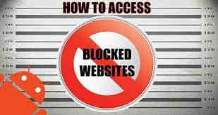 Cara Membuka Situs Yang Diblokir di Android Dengan Mudah hanya 1 menit