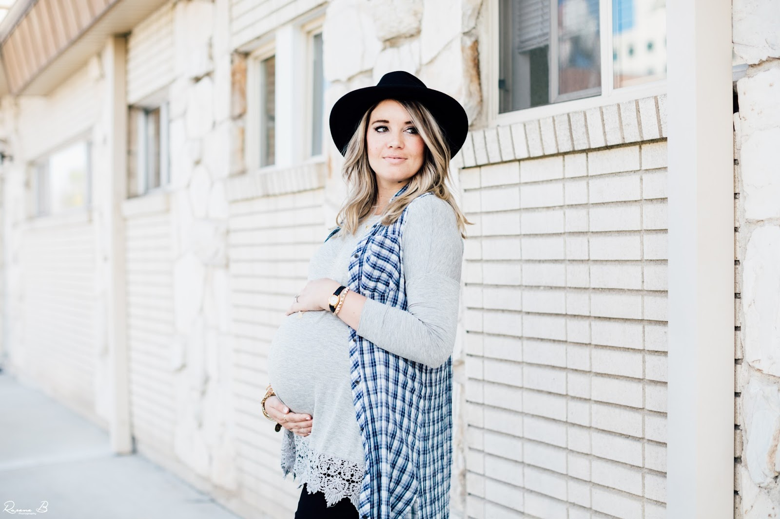Plaid, Crochet, Fall Hat, Utah Fashion Blogger