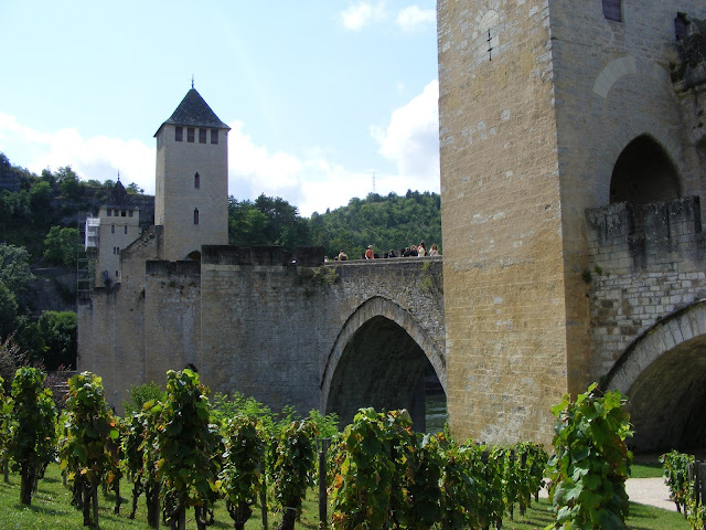 Pont Valentre, Cahors, Lot, France. Photo by Loire Valley Time Travel.