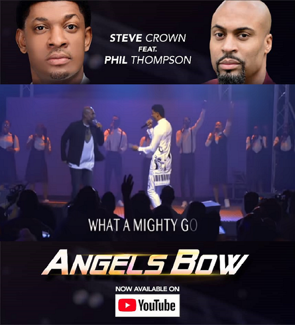 Official Live Video: Steve Crown - Angels Bow feat Phil Thompson