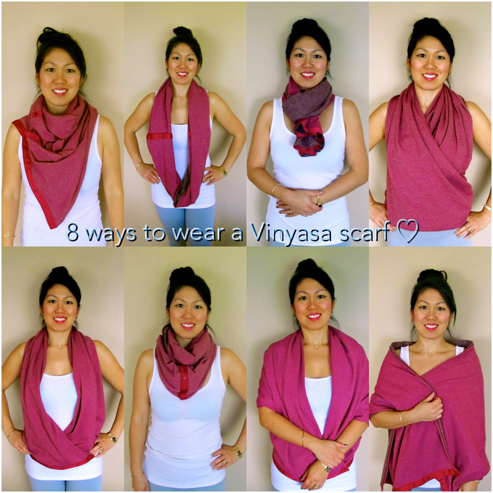 Beauty, Bites & Adorations: Scarf-Ace: Eight Ways to Wear ...