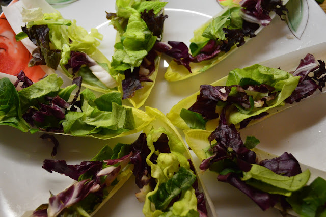 Chicory salad with codfish
