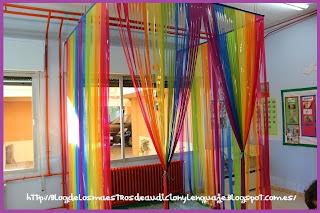 Resultat d'imatges de cortinas caseras clase infantil