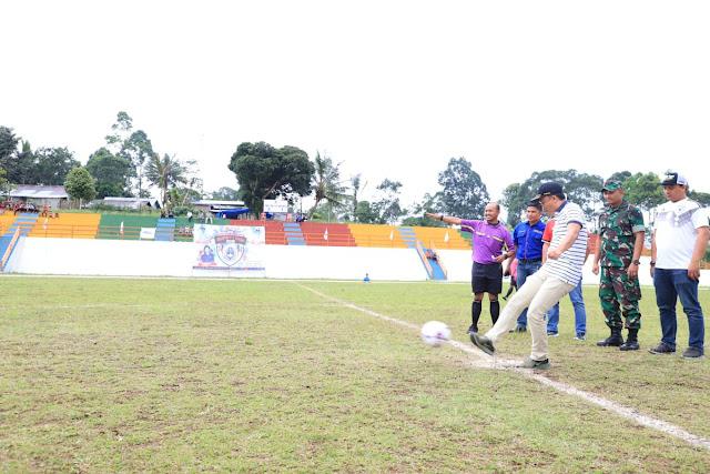 Bupati Lampung Barat Cup 2018 Diikuti 38 Klub
