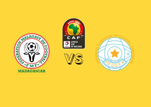 Madagascar vs RD Congo  Resumen