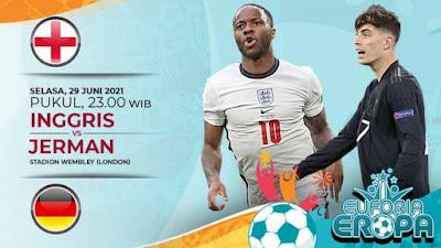 Link Live Streaming Euro 2020, Jerman Vs Inggris