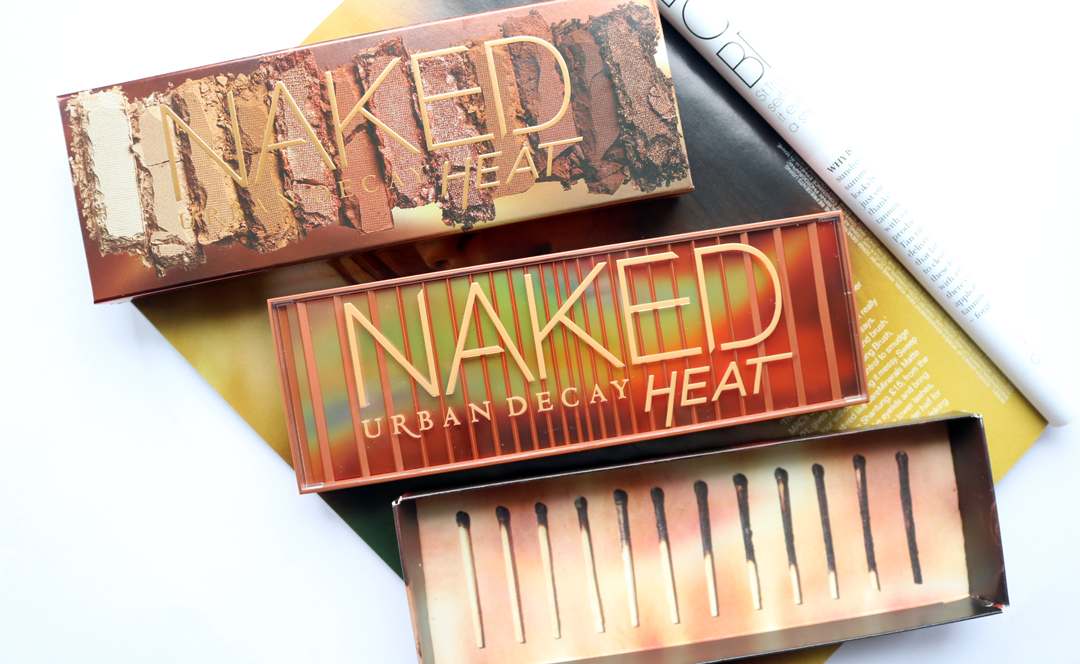 Urban Decay Naked Heat Eyeshadow Palette - Review & Swatches