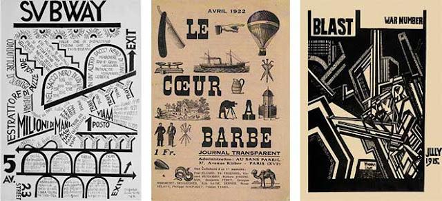 Futurism Style Graphic Design