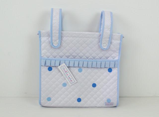 bolso panera bordado azul Bugaboo