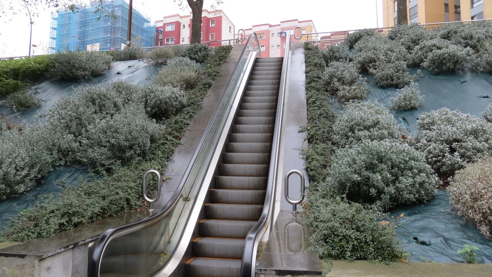 Escaleras mecánicas de La Inmaculada