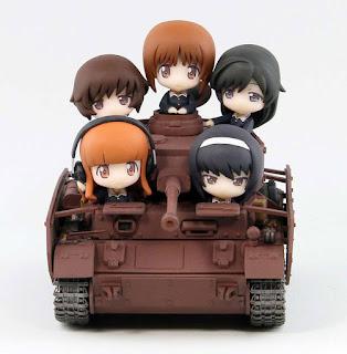 """Panzerkampfwagen IV Ausf D Kai (Aust F2) Ending Ver. de """"Girls und Panzer"""" - Pair-dot"""