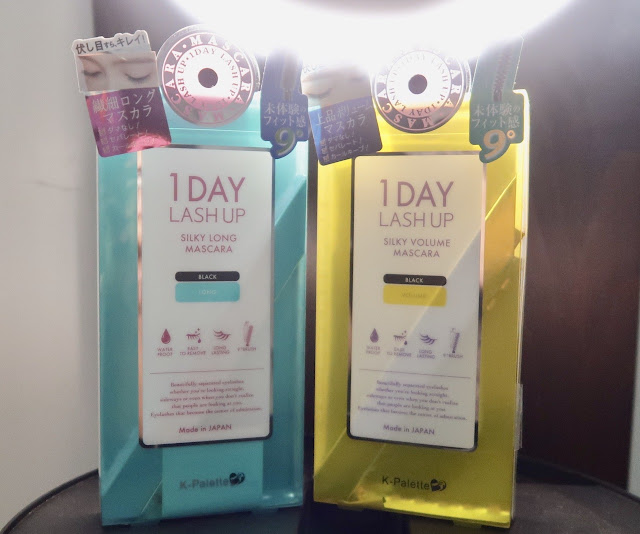 K Palette 1 Day Lash Up Silky Long Mascara and Silky Volume Mascara Review Good mascaras for aging lashes morena filipina beauty blog