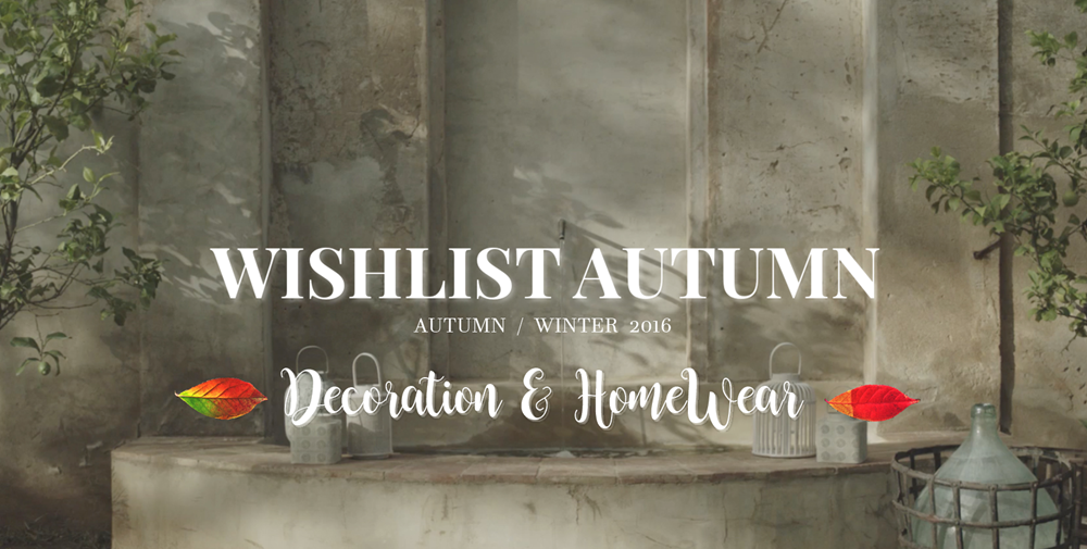 Herbst Wishlist - Decoration & Interior Accessoires // by: ZARA Home ...