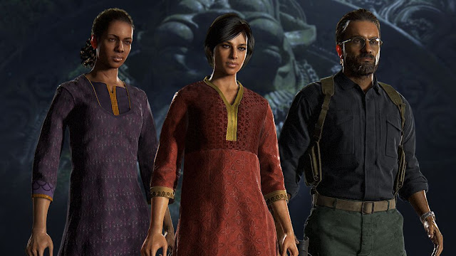 Top Reino Unido: Uncharted: The Lost Legacy mantém a liderança.