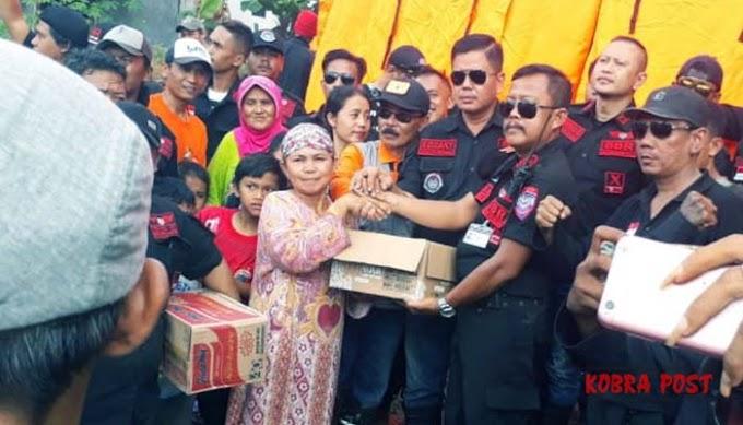 BBR Salurkan Bantuan Untuk Korban Bencana Alam