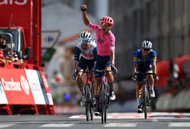 19o ετάπ: Έκανε την τρίτη νίκη στην Vuelta ο Cort, κράτησε την κόκκινη φανέλα ο Roglic
