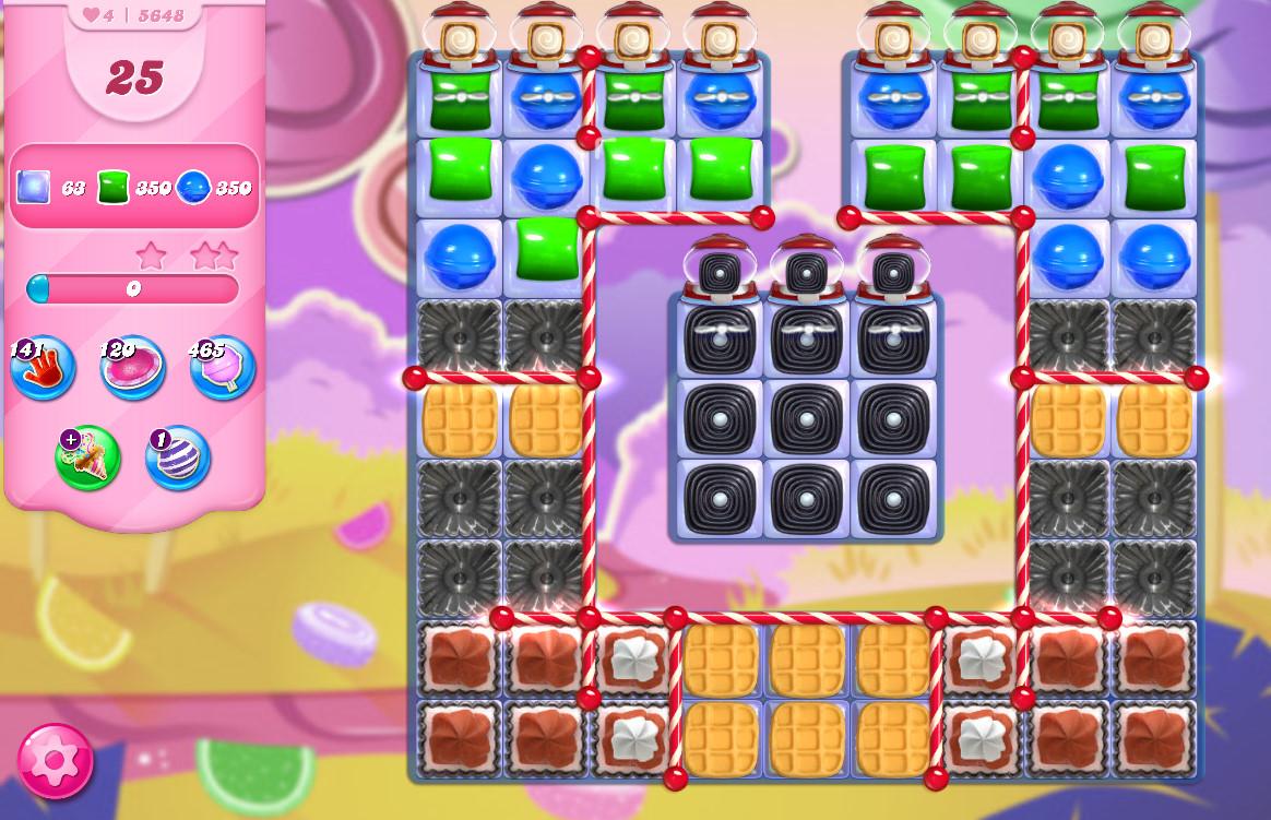 Candy Crush Saga level 5648