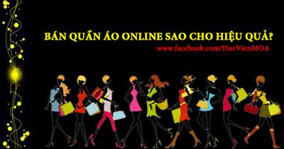 Bí quyết kinh doanh quần áo online thành công
