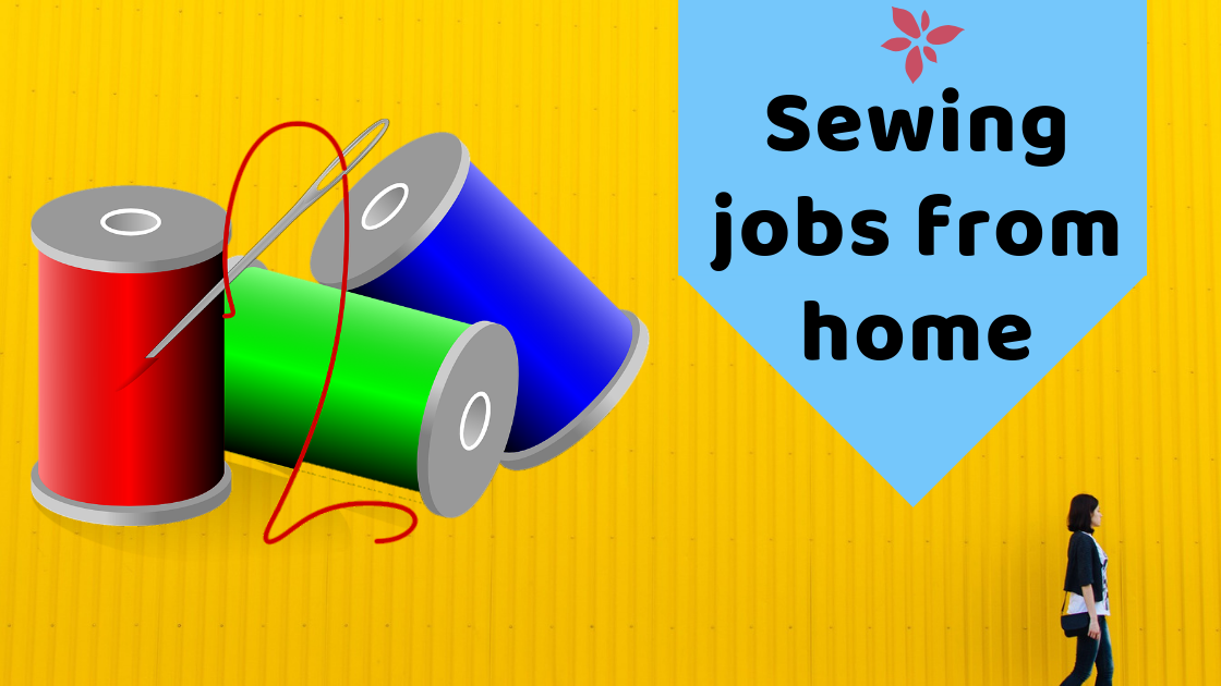 Sewing | Sewing jobs from home | 12 Best Ways to Earn Money Online from Home Without Investment www.itifitter.com