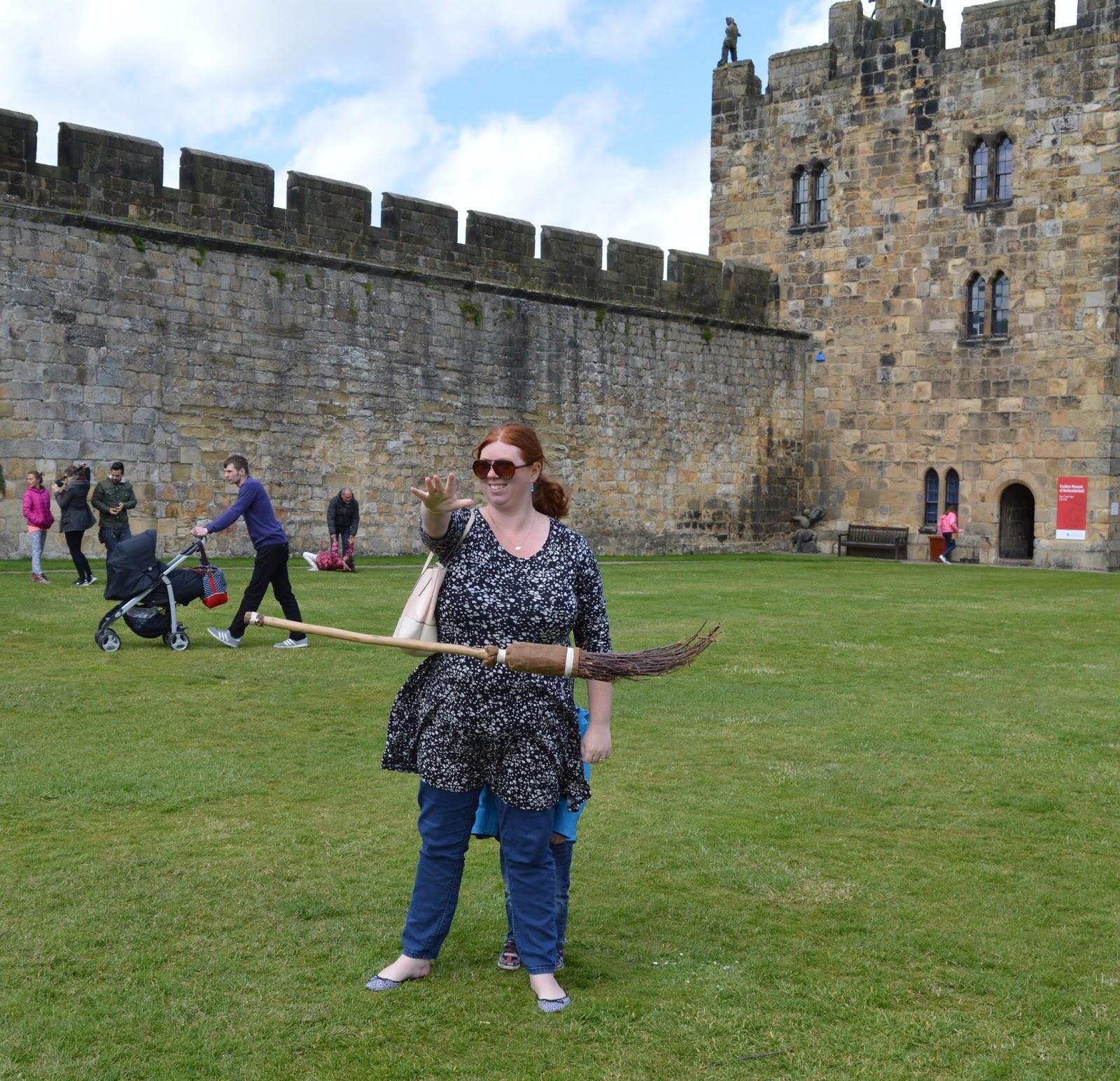 Alnwick Castle | Harry Potter Broomstick Training | magic