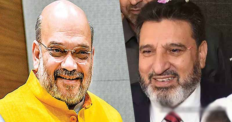 Jammu and Kashmir: Apni party leader Altaf Bukhari visits Union minister Amit Shah; The political picture may soon become clear,www.thekeralatimes.com
