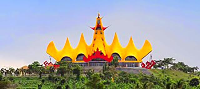 Gambar Menara Siger Di Lampung