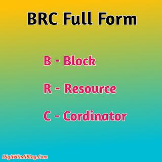 Brc full form