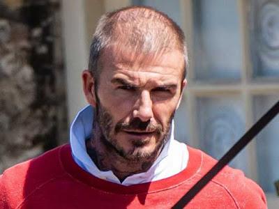 """Beckham lộ đầu hói gây sốc, """"xuống mã"""" nghiêm trọng sau cách ly Covid-19"""