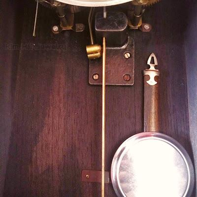 đồng hồ treo tường xưa Ryusuisha