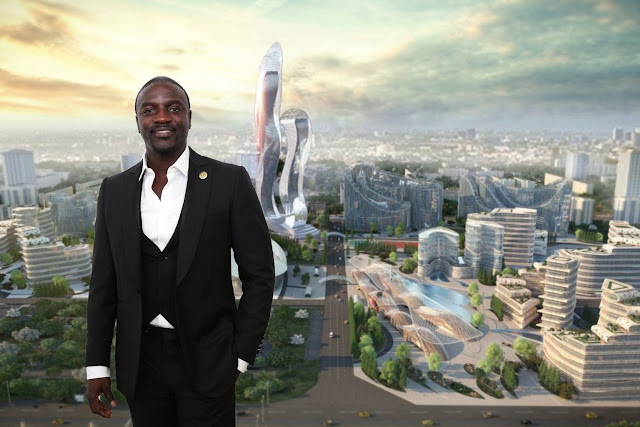 Photo: Akon Finalizes Agreement for Akon City in Senegal