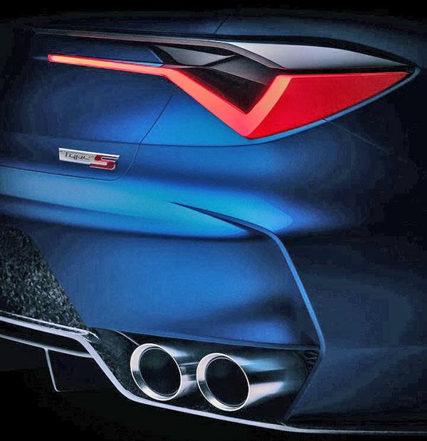 Burlappcar: Acura Type-S Concept
