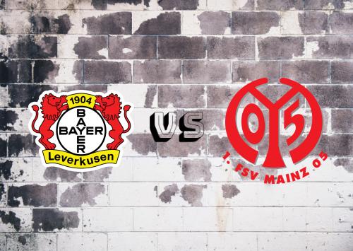Bayer Leverkusen vs Mainz 05  Resumen