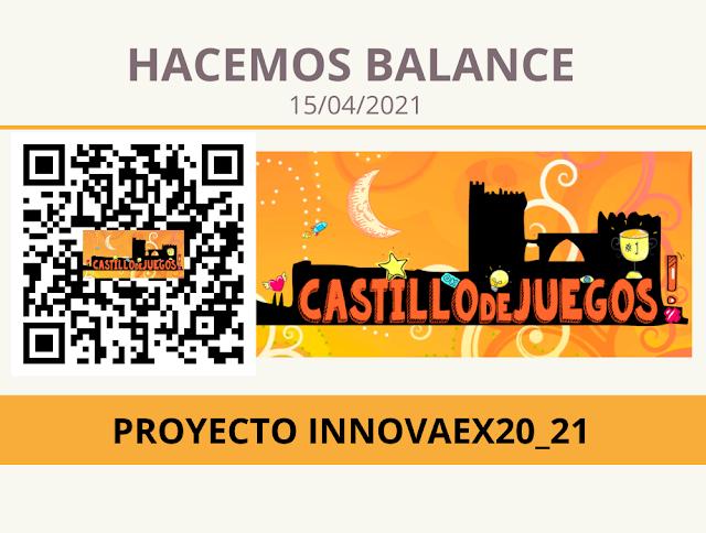 Balance del proyecto a 15 de abril