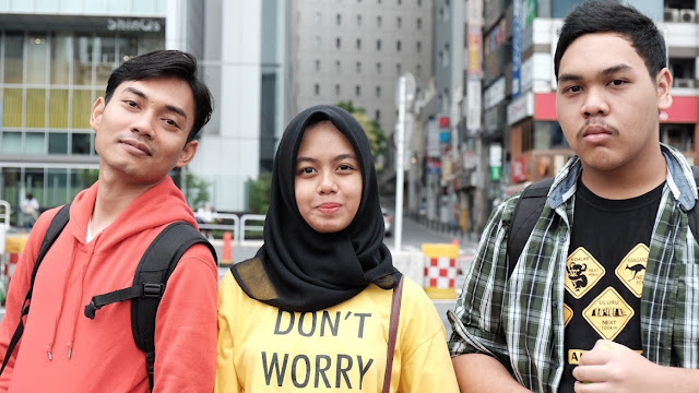 TEMAN SEKALIGUS MURIDKU DATANG KE TOKYO, JEPANG UNTUK LIBURAN