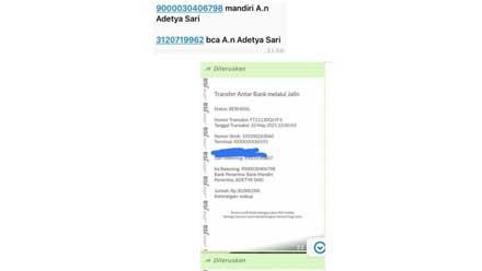 tangkapan layar hp chat whatsapp wabup limapuluh kota