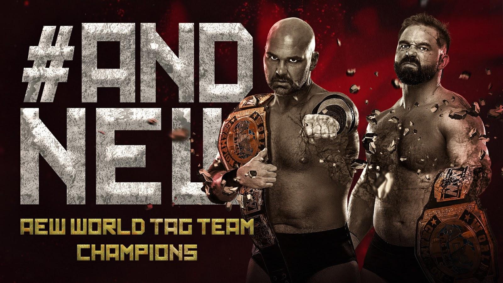 FTR conquistam o AEW World Tag Team Championship