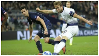 CL:Harry Kane's double earns Tottenham all three points against PSV